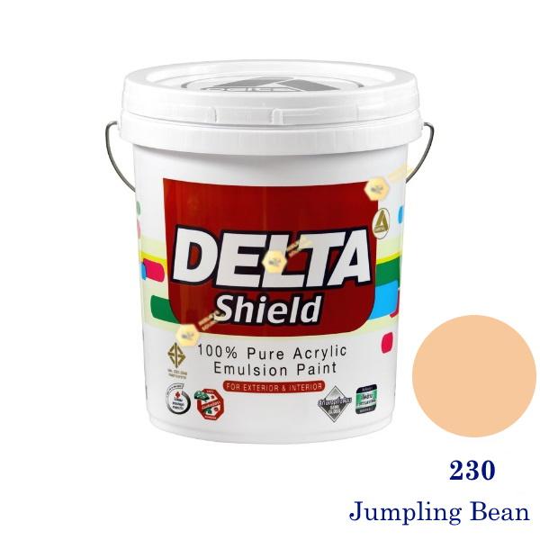 Delta Shield สีน้ำอะครีลิค 230 Jumpling Bean-5gl.