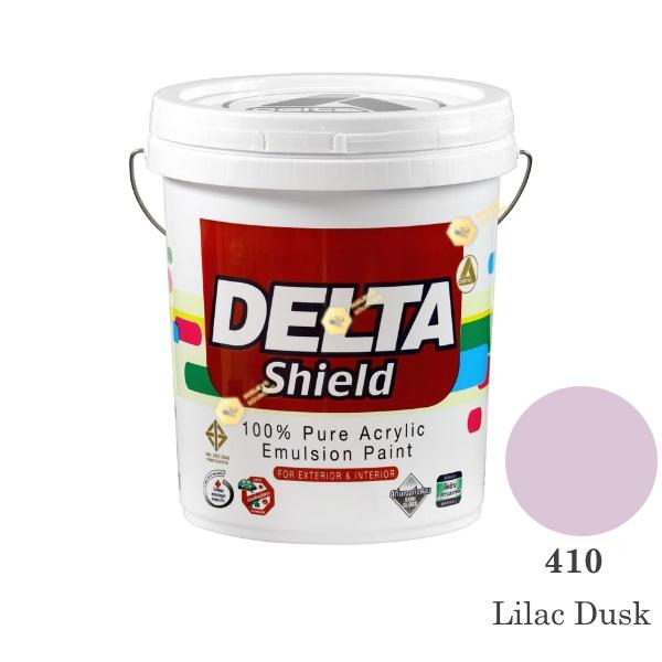 Delta Shield สีน้ำอะครีลิค 410 Lilac Dusk-5gl.