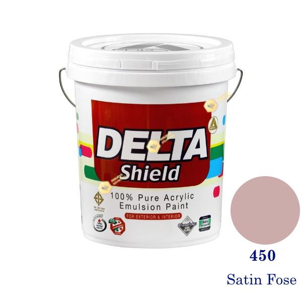 Delta Shield สีน้ำอะครีลิค 450 Satin Rose-5gl.