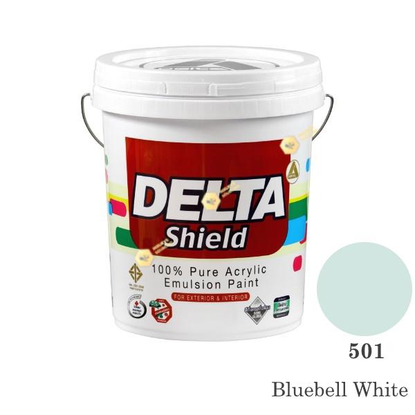Delta Shield สีน้ำอะครีลิค 501 Bluebell White-5gl.