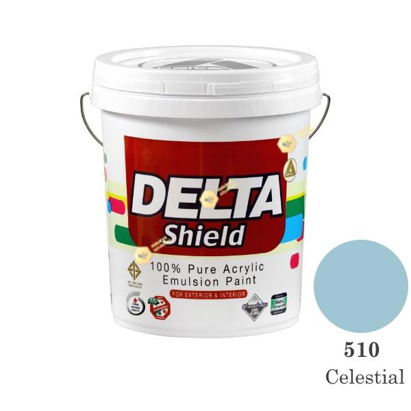 Delta Shield สีน้ำอะครีลิค 510 Celestial-5gl.