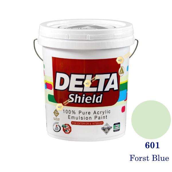 Delta Shield สีน้ำอะครีลิค 601 Forst Blue-5gl.