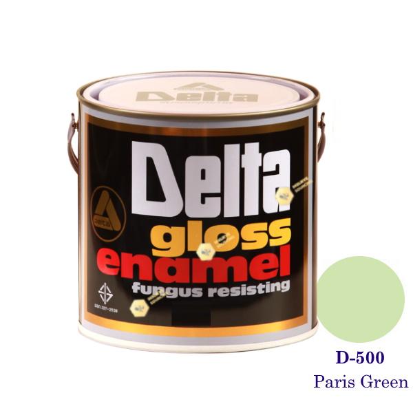 DELAT GLOSS ENAMEL สีเคลือบน้ำมัน D-500 Paris Green