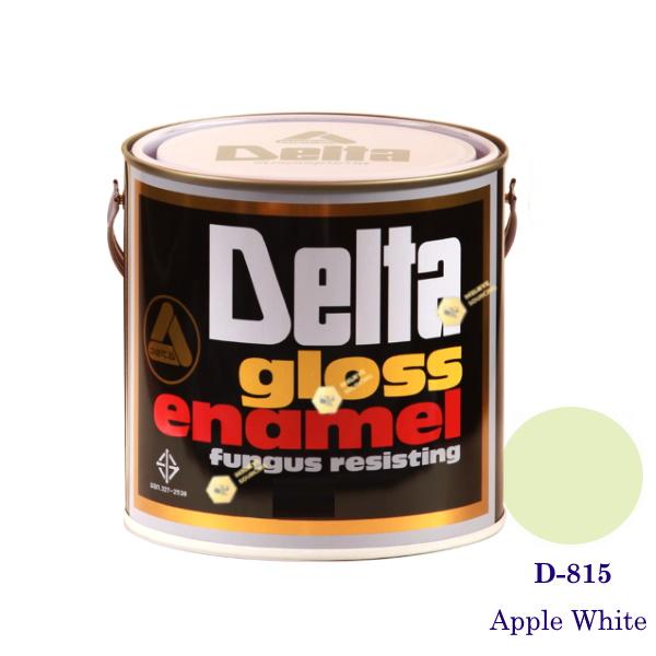 DELAT GLOSS ENAMEL สีเคลือบน้ำมัน D-815 Apple White