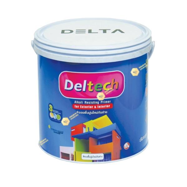 Deltech สีรองพื้นปูนกันด่าง DT-1111 White-1gl.
