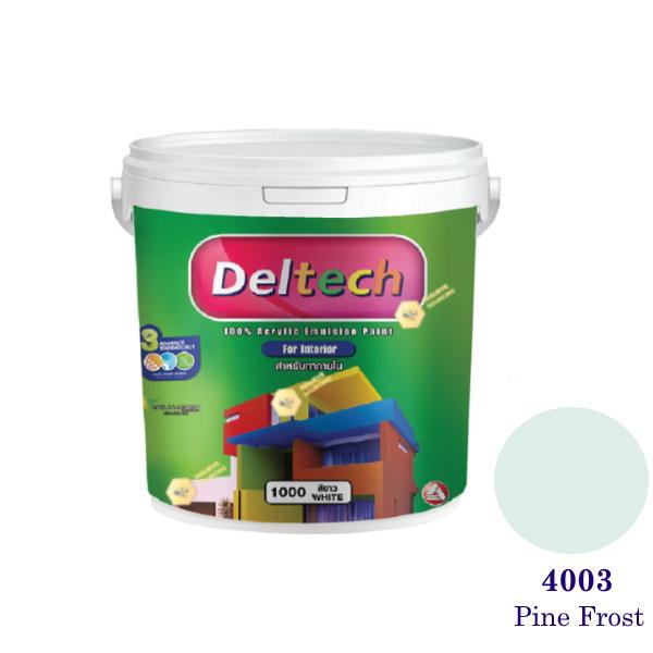 Deltech สีน้ำอะครีลิคภายใน 4003 Pine Frost-1gl.