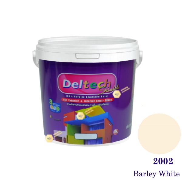 Deltech สีน้ำอะครีลิคกึ่งเงา SG-2002 Barley White-1gl.