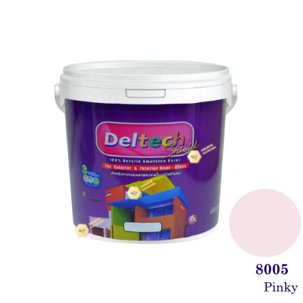 Deltech สีน้ำอะครีลิคกึ่งเงา SG-8005 Pinky-L (สีเข้ม)