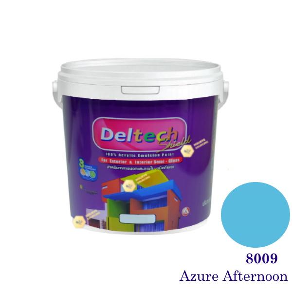 Deltech สีน้ำอะครีลิคกึ่งเงา SG-8009 Azure Afternoon-L (สีเข้ม)