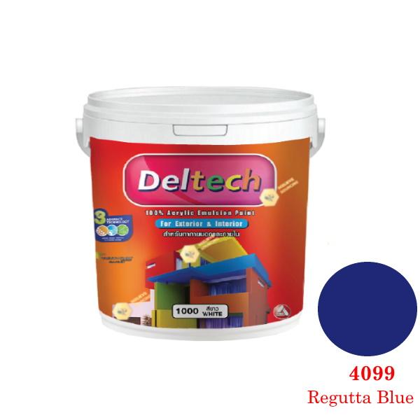 แม่สี Deltech 4099 Regutta Blue-1gl.