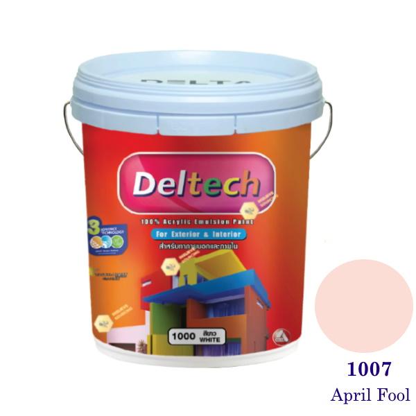 Deltech สีน้ำอะครีลิคภายนอก 1007 April Fool-5 gl