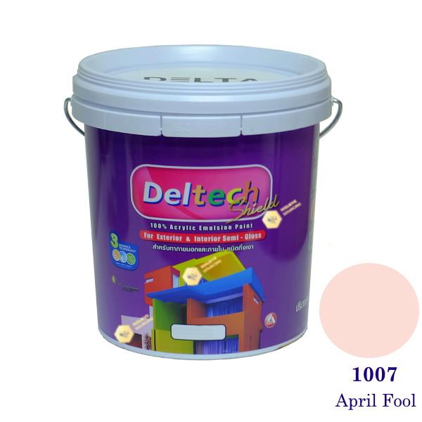 Deltech สีน้ำอะครีลิคกึ่งเงา SG-1007 April Fool-5gl.
