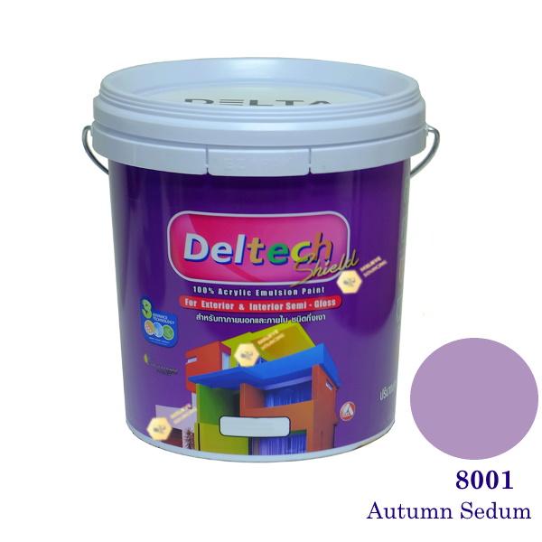 Deltech สีน้ำอะครีลิคกึ่งเงา SG-8001 Autumn Sedum-L (สีเข้ม)