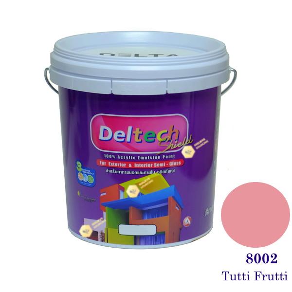 Deltech สีน้ำอะครีลิคกึ่งเงา SG-8002 Tutti Frutti-L (สีเข้ม)