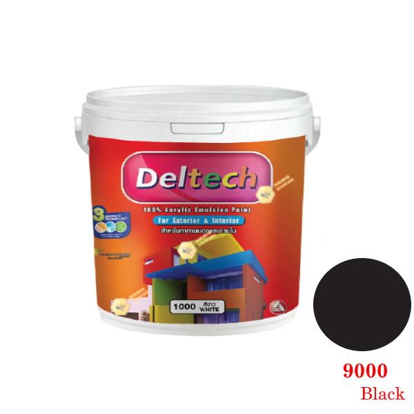 แม่สี Deltech 9000 Black-1gl.