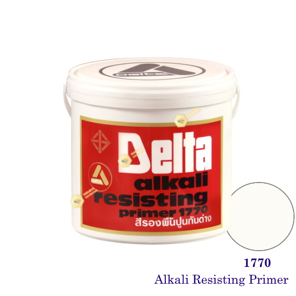 เดลต้า สีรองพื้นปูนใหม่ 1770 Alkali Resisting Primer-1gl