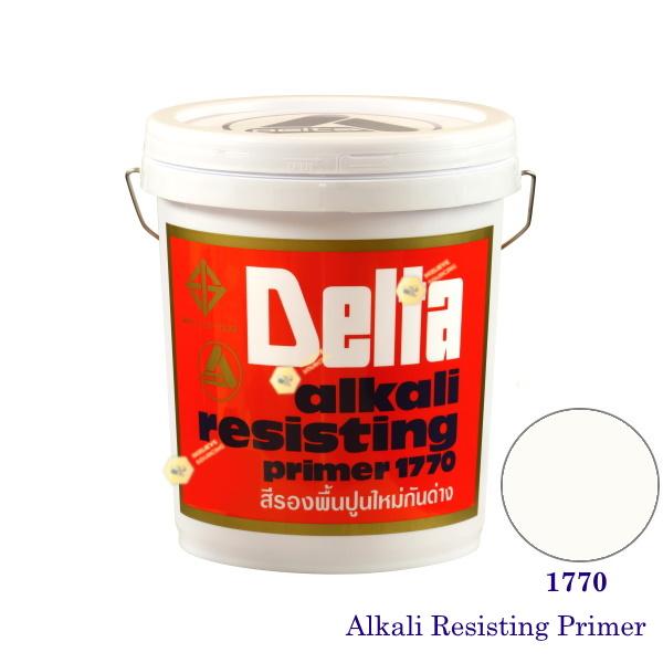 เดลต้า สีรองพื้นปูนใหม่ 1770 Alkali Resisting Primer-5gl