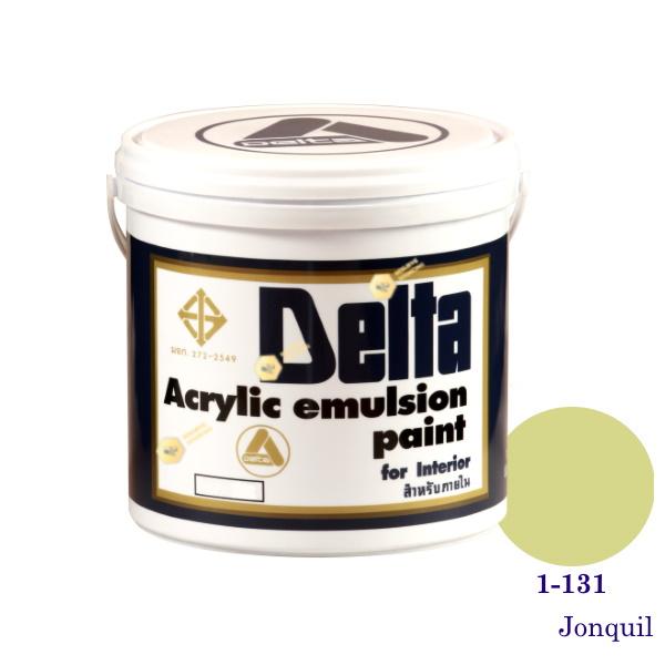 เดลต้า สีน้ำอะครีลิคภายใน 1-131 Jonquil 1gl.
