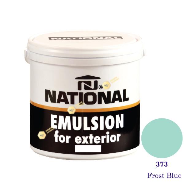 NATIONAL สีน้ำอะครีลิคภายนอก 373 Frost Blue-1gl