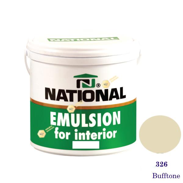NATIONAL สีน้ำอะครีลิคภายใน 326 Bufftone-1gl