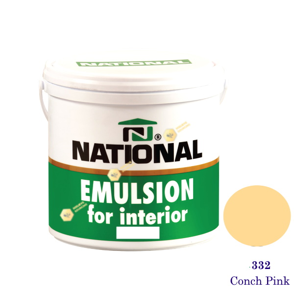 NATIONAL สีน้ำอะครีลิคภายใน 332 Conch Pink-1gl