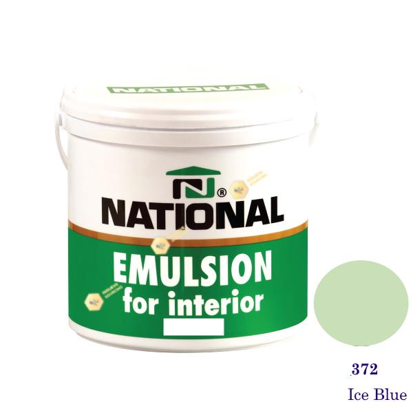 NATIONAL สีน้ำอะครีลิคภายใน 372 Ice Blue-1gl
