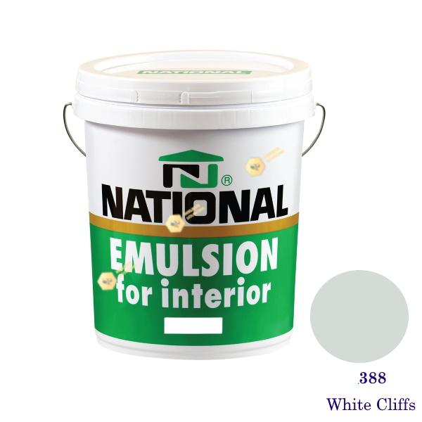 NATIONAL สีน้ำอะครีลิคภายใน 388 White Cliffs-5gl