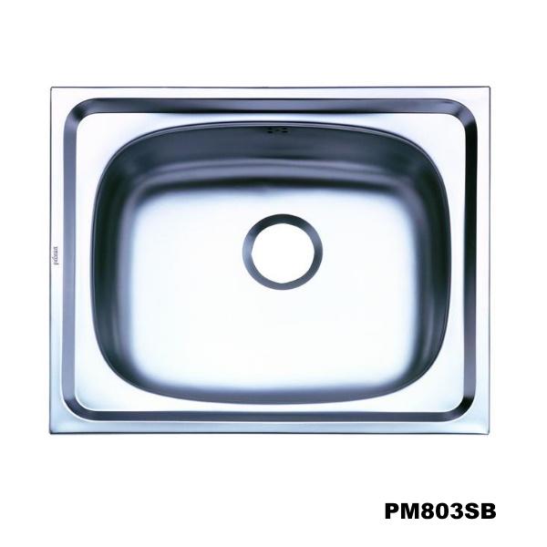 อ่างซิงค์1หลุม สะดือB-PM803SB