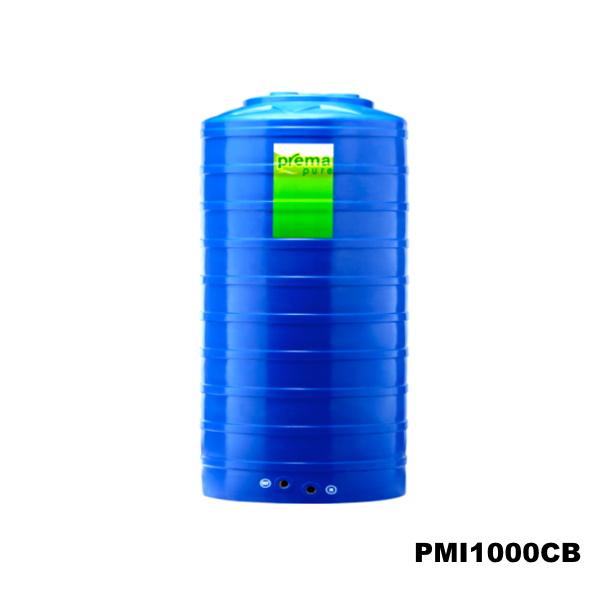 ถังเก็บน้ำบนดิน PREMA สีฟ้า ขนาด 1,000 ลิตร