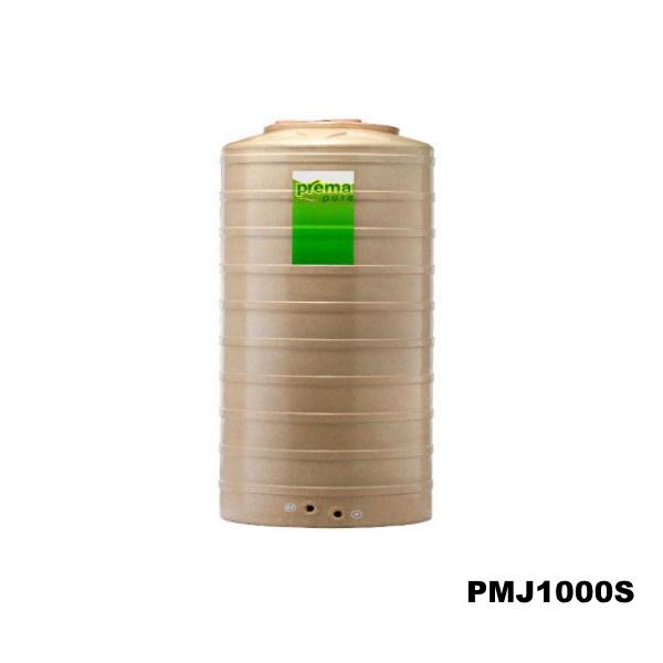 ถังเก็บน้ำบนดิน PREMA สีแซนสโตน ขนาด 1,000 ลิตร